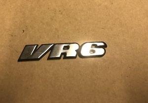 VW Jetta GTI Passat VR6 Oem Rear Emblem Badge SHIPS FAST!!