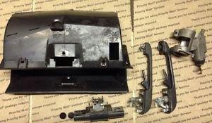 VW Mk2 Jetta GLI Golf GTI Genuine OEM Lock Kit And Glove Box SHIPS FAST!!