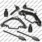 Suspension Kit For Mercury Mountaineer 4.0L v6 Upper Control Arm Tie Rod Ends