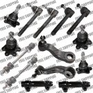 4WD Chevrolet K1500 New Ball Joint (Bolt on Type) Tie Rods Front Steering Kit