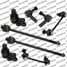 Steering Kit Tie Rod End Fits Nissan Pathfinder Lower Ball Joint Sway Bar Link