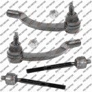 Front Replacement Tie Rod End Inner Outer Replacement Part For Volvo 850,C70,V70