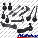 New Front End kit ACDELCO Tie Rods,Pitman,Idler arm For Chvy Silverado 1500 4WD