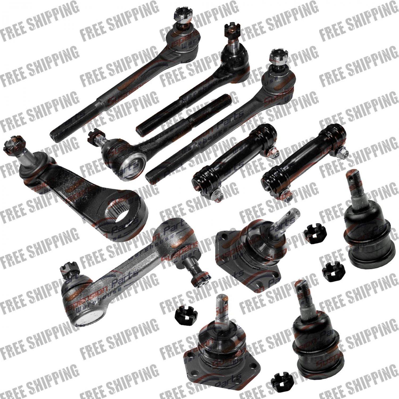 New Steering Kit Ball Joint Tie Rods/Pitman/Idler Arm Kit for C10/P30/C1500/R10
