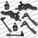 New Front Suspension Repair Kit For Toyota Sequoia Ball Joints+Tie Rods Linkages