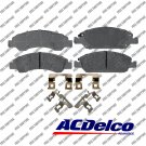 Disc Brake Pad-Ceramic Front ACDelco Advantage 14D1363CH