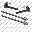 Front Steering End For Subaru Forester Right Left Tie Rod End Inner Outer Set
