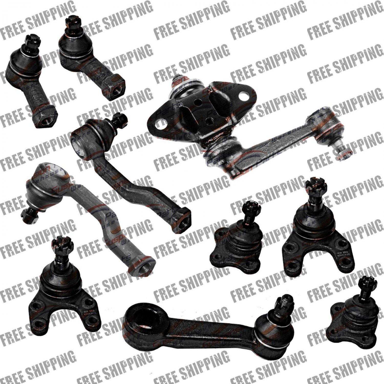 92-93 2WD Suspension Mazda B220,B2600 Ball Joint, Pitman, Idler Arm, Tie Rod End