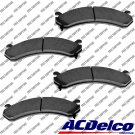 New Disc Brake Pad-Ceramic Set Front ACDelco Advantage 14D784CH