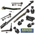 Ford F250-F350 Susper Duty New Front End MOOG Steering Rebuild Kit Tie Rod End