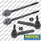 Outer Inner Set Front Steering Tie Rods MOOG PART For RWD Chevy Silverado 1500
