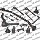 Front Steering Rebuild Kit Tie Rods Center Link Ball Joint For Pontiac Grand Am