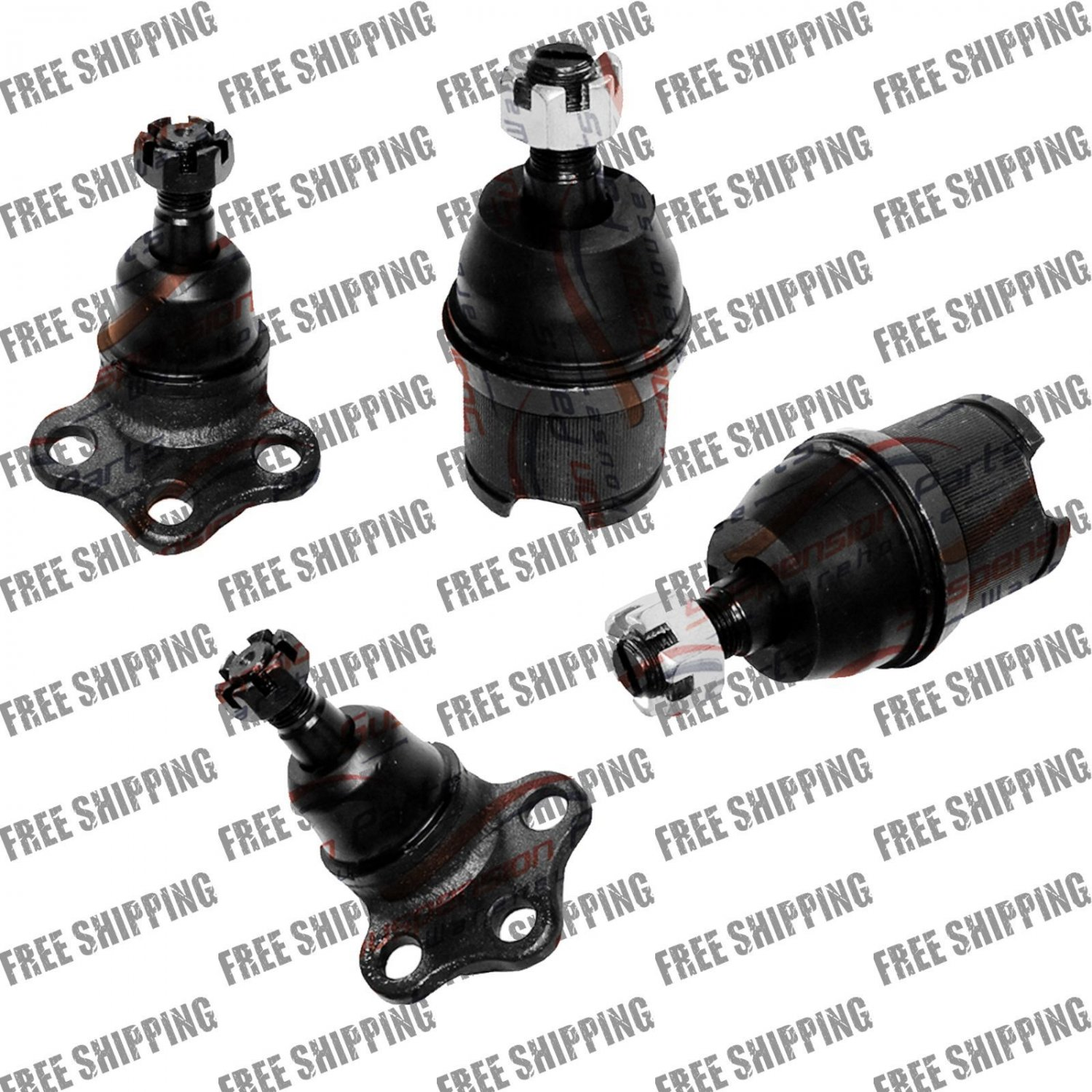 DODGE DURANGO 00,01,02,03, UPPER LOWER BALL JOINTS 4WD