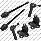 Inner Outer Tie Rod Ends Ball Joints Impala Pontiac Grand Prix - 1 Year Warranty