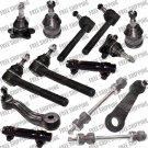 New Front Steering Kit Inner+Outer+Idler+Pitman Arm Chevrolte/Gmc C1500/C2500