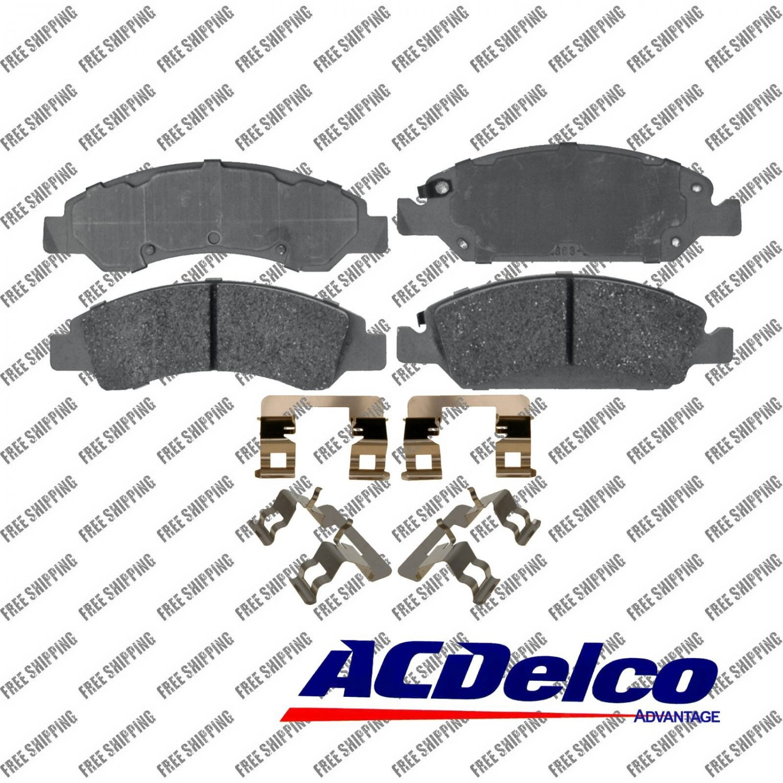 ACDelco Advantage 14D1363CH Disc Brake Pad-Ceramic Front Gmc Sierra 1500,Yukon