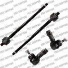 Brand New 4pc Front Inner and Outer Tie Rod Kit for Ford Focus 2002,03,04,05,06