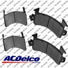 Disc Brake Pad-Semi Metallic Front,Rear ACDelco Advantage 14D154M
