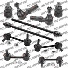 Front Steering Rebuild Kit Tie Rod End+Ball Joint Sway Bar Link For Ford Probe