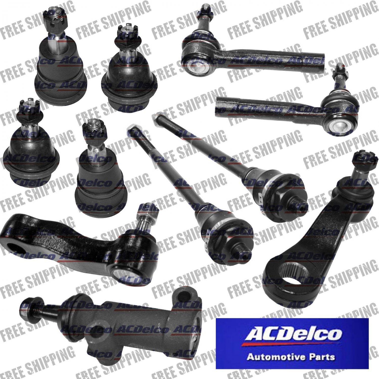 AC DELCO Steering Pitman Arm Idler Bracket Ball Joints For GMC Sierra Truck HD