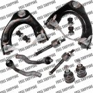 Front Suspension Kit For Honda Upper Control Arm Ball Joint Tie Rods Civic/CRX
