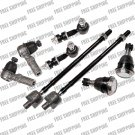 Steering Chassis Kit Tie Rod Linkage Ball Joint Sway Bar Fit Infiniti i30 96-99