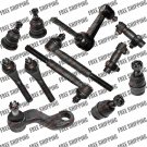 Steering Kit Idler Arm Pitman Tie Rod End Ball Joints For Dodge Ram 2500 RWD