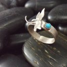 Dragonfly Sonata Sterling Silver Band Ring