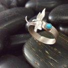 Dragonfly Sonata Sterling Silver Band Ring