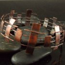 Picket Fence Copper Bangle