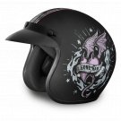 New Daytona Helmets Cruiser - W/ GONE BAD Motorcycle DOT Helmet All sizes DC6-GB