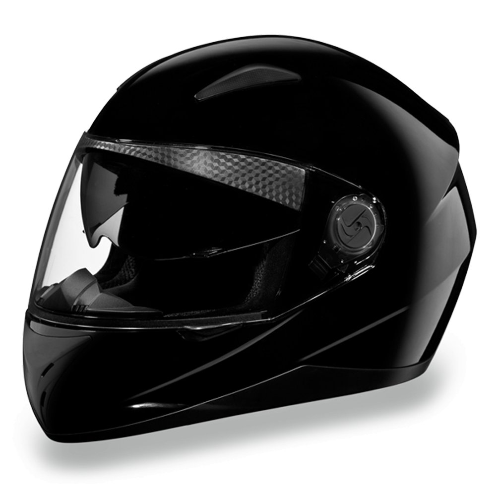 New Daytona Helmets Shifter- HI-GLOSS BLACK DOT Motorcycle Helmet All sizes S1-A