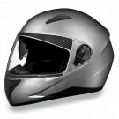 Daytona Helmets SHIFTER - SILVER METALLIC DOT Motorcycle Helmet All sizes S1-SM