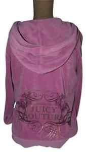 JUICY COUTURE Hoodie Jacket Pink JUICY name on back L