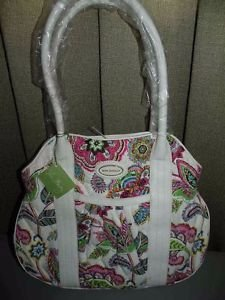 "Vera Bradley Bag Purse ""Palm Beach Gardens"" NWT $110 MSRP"