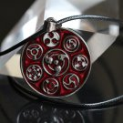 Anime Naruto Sharingan Necklace Women Cosplay Men Jewelry