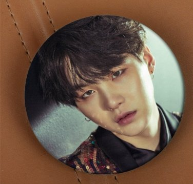 Korea POP BTS Bangtan Boys SUGA Brooch Pins Badge Broches For Clothes Backpacks