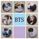 7 pieces Korea POP BTS Bangtan Boys Brooch Pins Badge Broches For Clothes Backpacks