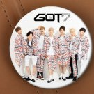 Free Shipping Korea POP GOT7 Brooch Pins Badge Broches For Clothes Backpacks