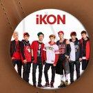 Free Shipping Korea POP IKON Warm Up Single Albums Brooch Pins Badge Broches