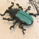 Punk Insect Jewelry Enamel Beetle Brooch Pins Women Clothes Scarf Decoration Party Gifts