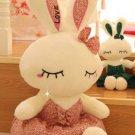 40 cm lovely style cartoon bowtie sleep ballet rabbit plush toys stuffed