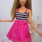 Causal Dress One Piece Short Dress For Barbie Dolls