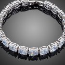 Charm Clear AAA+ Oval Cubic Zirconia Tennis Bracelet for Woman