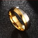 Crystal Wedding Jewelry For Male Accessories Gold Color Anel Ring For couples Lovers Best Friends