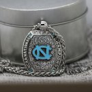 2016 North Carolina Tar Heels Basketball NCAA National Championship Necklace
