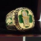 1986 Boston Celtics National Basketball Championship Ring 7-15 Size Copper Solid Engraved Inside