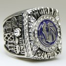 2011 Dallas Mavericks National Bakstball Championship Ring 10 Size Kid Name alloy version