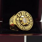 1975 Golden State GSW Warrior Basketball West Championship Ring 7-15 Size Copper Solid