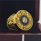 1981 Boston Celtics National Basketball Championship Ring 7-15 Size Copper Solid